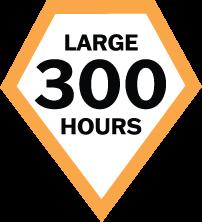Cultivate Advantage Program - CAP level large - 300 hrs.